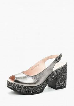 Босоножки, Pierre Cardin, цвет: серебряный. Артикул: MP002XW1C8HG. Обувь