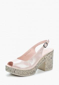 Босоножки, Pierre Cardin, цвет: розовый. Артикул: MP002XW1C8I8. Обувь