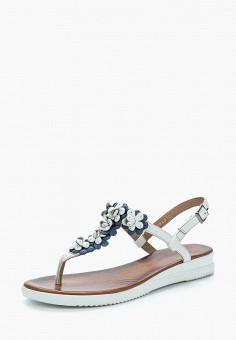 Сандалии, Pierre Cardin, цвет: белый. Артикул: MP002XW1C8IZ. Обувь / Сандалии