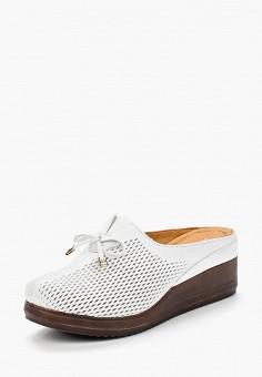 Сабо, Pierre Cardin, цвет: белый. Артикул: MP002XW1C8J5. Обувь