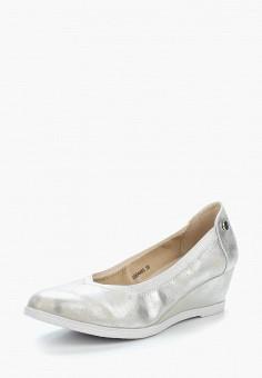 Туфли, T.Taccardi, цвет: серебряный. Артикул: MP002XW1C8LB. Обувь