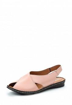 Сандалии, Alessio Nesca, цвет: розовый. Артикул: MP002XW1C8LJ. Обувь