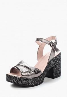 Босоножки, Pierre Cardin, цвет: серебряный. Артикул: MP002XW1C8LO. Обувь