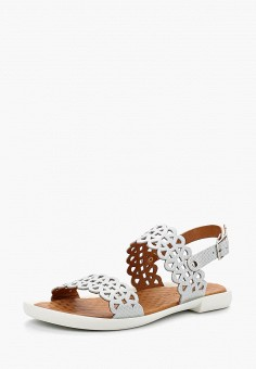 Сандалии, Alessio Nesca, цвет: белый. Артикул: MP002XW1C8LQ. Обувь / Сандалии