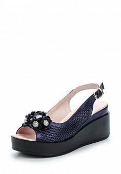 Босоножки, Pierre Cardin, цвет: синий. Артикул: MP002XW1C8M1. Обувь