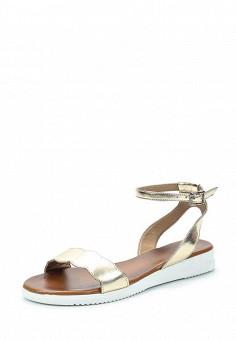 Сандалии, Pierre Cardin, цвет: золотой. Артикул: MP002XW1C8M3. Обувь