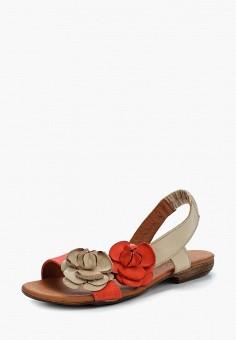 Сандалии, Alessio Nesca, цвет: бежевый. Артикул: MP002XW1C8N5. Обувь / Сандалии