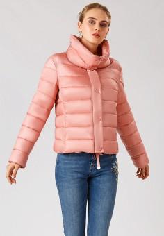 Куртка утепленная, Finn Flare, цвет: коралловый. Артикул: MP002XW1CSMZ. Одежда / Верхняя одежда / Демисезонные куртки