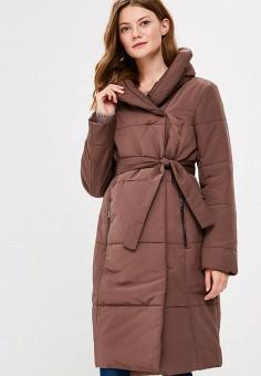 Куртка утепленная, Annborg, цвет: коричневый. Артикул: MP002XW1CSV7. Одежда / Верхняя одежда / Демисезонные куртки