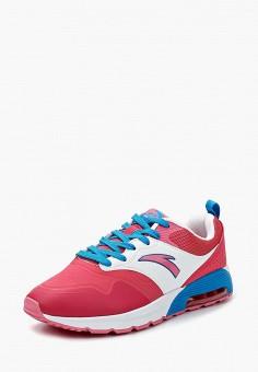 Кроссовки, Anta, цвет: розовый. Артикул: MP002XW1F6H6. Обувь / Кроссовки и кеды / Кроссовки