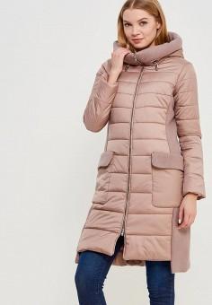 Куртка утепленная, Grafinia, цвет: розовый. Артикул: MP002XW1F7TV. Одежда / Верхняя одежда / Пуховики и зимние куртки