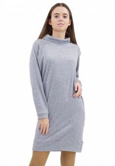 Платье, Doctor E, цвет: серый. Артикул: MP002XW1F86F. Одежда / Платья и сарафаны