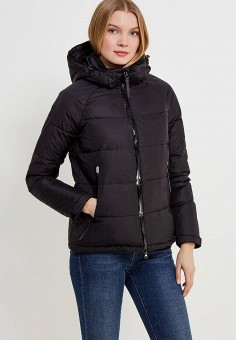 Пуховик, Zasport, цвет: черный. Артикул: MP002XW1F9OU. Одежда / Верхняя одежда / Зимние куртки