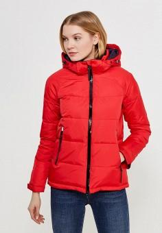 Пуховик, Zasport, цвет: красный. Артикул: MP002XW1F9OW. Одежда / Верхняя одежда / Пуховики и зимние куртки