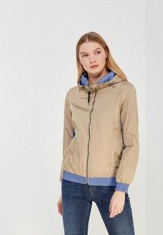 Куртка, Zasport, цвет: бежевый. Артикул: MP002XW1F9P5. Одежда / Верхняя одежда / Легкие куртки и ветровки