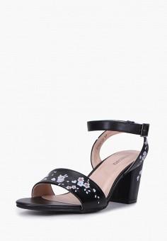 Босоножки, T.Taccardi, цвет: черный. Артикул: MP002XW1G41A. Обувь / Босоножки