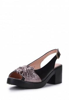 Босоножки, T.Taccardi, цвет: черный. Артикул: MP002XW1G41H. Обувь