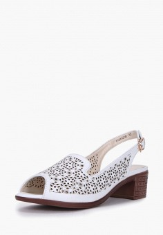 Босоножки, T.Taccardi, цвет: белый. Артикул: MP002XW1G42P. Обувь / Босоножки