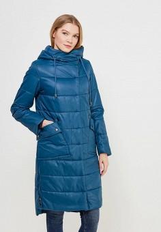 Куртка утепленная, Grafinia, цвет: синий. Артикул: MP002XW1GFRE. Одежда / Верхняя одежда / Пуховики и зимние куртки