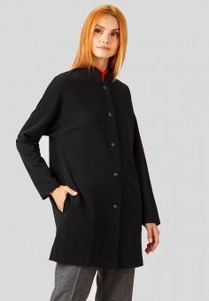 Пальто, Finn Flare, цвет: черный. Артикул: MP002XW1GKH8. Одежда