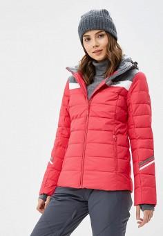 Куртка горнолыжная, High Experience, цвет: розовый. Артикул: MP002XW1GN5T. Одежда / Верхняя одежда / Зимние куртки