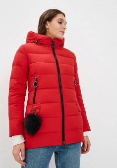 Куртка утепленная, Winterra, цвет: красный. Артикул: MP002XW1GN7C. Одежда / Верхняя одежда / Зимние куртки