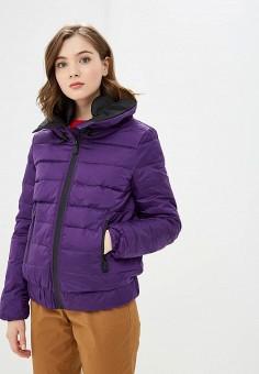 Пуховик, Colin's, цвет: фиолетовый. Артикул: MP002XW1GNP1. Одежда / Верхняя одежда