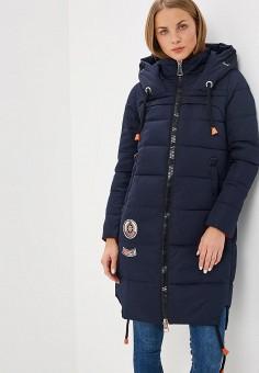 Куртка утепленная, Winterra, цвет: синий. Артикул: MP002XW1GOCT. Одежда / Верхняя одежда / Зимние куртки