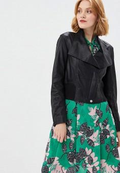 Куртка кожаная Madeleine, цвет черный, размер
