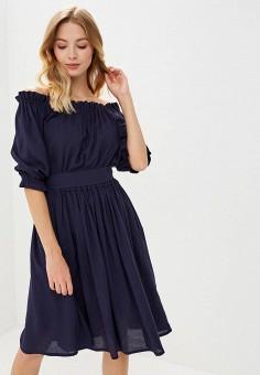 Платье, Alina Assi, цвет: синий. Артикул: MP002XW1GQ1Z. Одежда / Платья и сарафаны