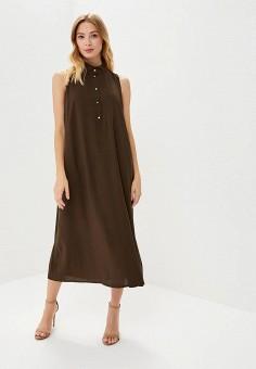 Платье, Alina Assi, цвет: хаки. Артикул: MP002XW1GQ4Y. Одежда / Платья и сарафаны