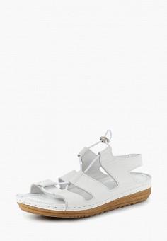 Сандалии, Alessio Nesca, цвет: белый. Артикул: MP002XW1GXEI. Обувь / Сандалии