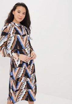 Платье Zarina, цвет мультиколор, размер 42RU