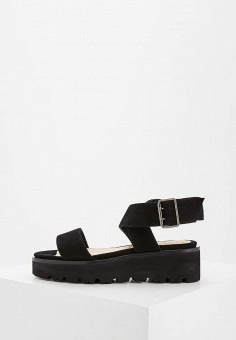 Босоножки, Nando Muzi, цвет: черный. Артикул: NA008AWZVX52. Premium / Обувь / Босоножки