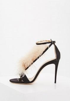 Босоножки, Nando Muzi, цвет: черный. Артикул: NA008AWZVX63. Premium / Обувь / Босоножки