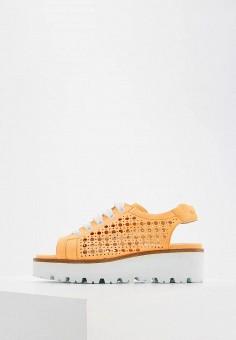 Босоножки, Nando Muzi, цвет: оранжевый. Артикул: NA008AWZVX76. Premium / Обувь / Босоножки