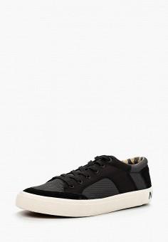 Кеды, Napapijri, цвет: черный. Артикул: NA154AMADLQ1. Обувь / Кроссовки и кеды / Кеды