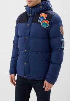 Куртка утепленная, Napapijri, цвет: синий. Артикул: NA154EMCICI1. Одежда / Верхняя одежда / Демисезонные куртки