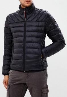 Куртка утепленная, Napapijri, цвет: черный. Артикул: NA154EMCICJ7. Одежда / Верхняя одежда / Демисезонные куртки