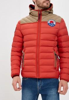 Куртка утепленная, Napapijri, цвет: красный. Артикул: NA154EMCICL1. Одежда / Верхняя одежда / Демисезонные куртки