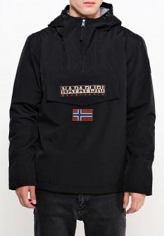 Куртка утепленная, Napapijri, цвет: черный. Артикул: NA154EMVSU75. Одежда / Верхняя одежда / Демисезонные куртки