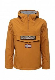 Куртка утепленная, Napapijri, цвет: желтый. Артикул: NA154EMVSU79. Одежда / Верхняя одежда / Демисезонные куртки