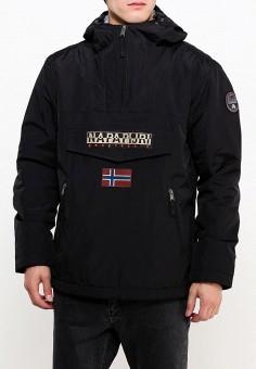Куртка утепленная, Napapijri, цвет: черный. Артикул: NA154EMVSU87. Одежда / Верхняя одежда / Демисезонные куртки