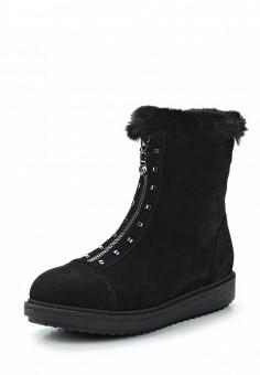 Полусапоги, Nelsi, цвет: черный. Артикул: NE021AWXCF49. Обувь / Сапоги