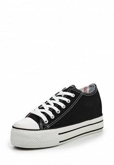 Кеды, Niweile, цвет: черный. Артикул: NI018AWQQA32. Обувь / Кроссовки и кеды