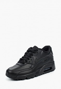 Кроссовки Nike Air Max 90 Leather Boys' Shoe (3.5y-7y)
