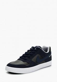 Кеды, Nike, цвет: синий. Артикул: NI464AMAAOZ5. Обувь / Кроссовки и кеды / Кеды