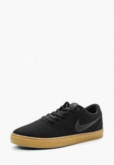 Кеды, Nike, цвет: черный. Артикул: NI464AMBBNZ9. Обувь / Кроссовки и кеды / Кеды
