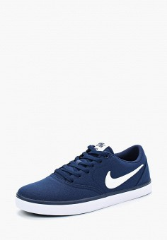 Кеды, Nike, цвет: синий. Артикул: NI464AMBBOA2. Обувь / Кроссовки и кеды / Кеды