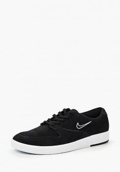 Кеды, Nike, цвет: черный. Артикул: NI464AMBWQU0. Обувь / Кроссовки и кеды / Кеды
